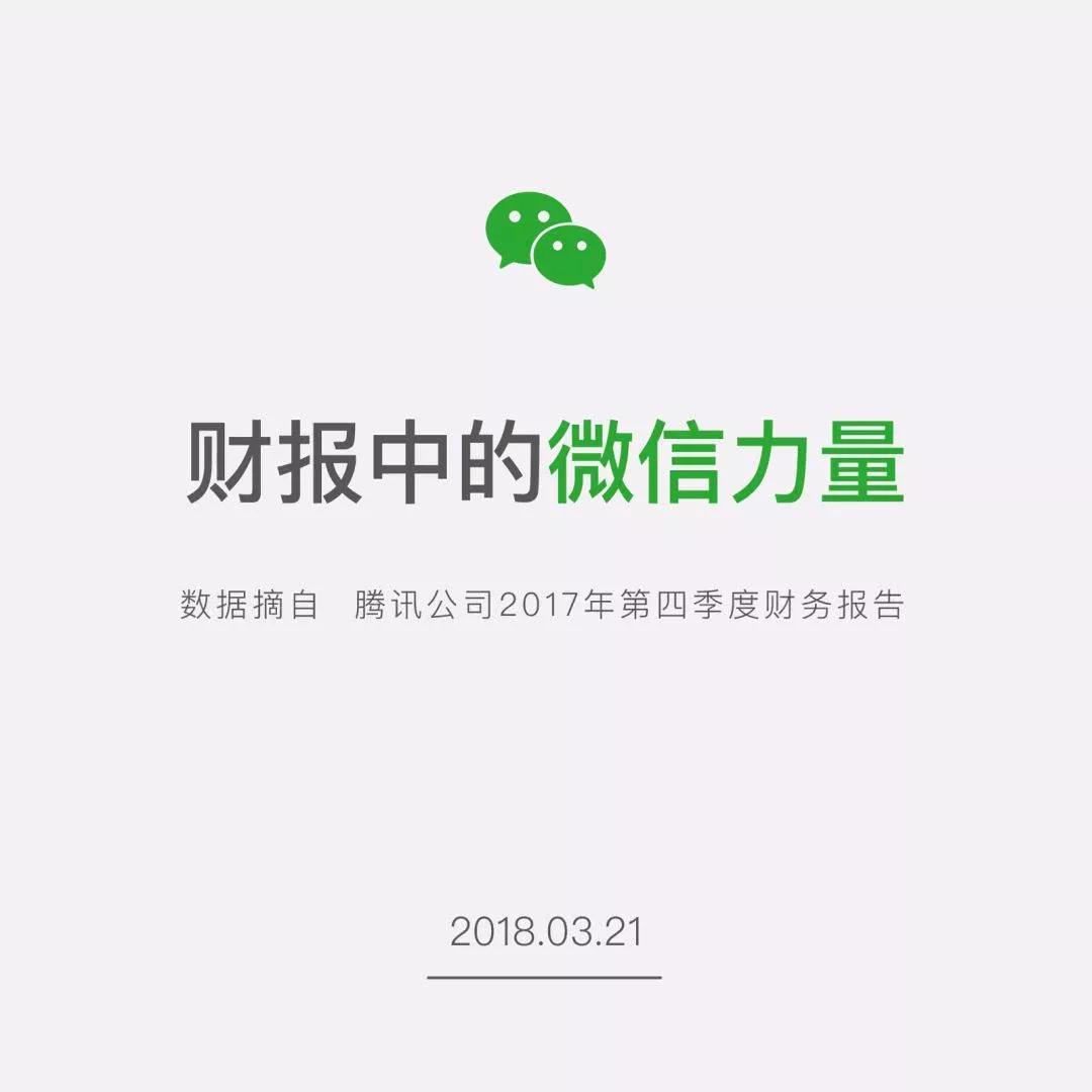 腾讯财报出炉:微信成长迅速,小程序数量已达58万,但用QQ的人越来越少了